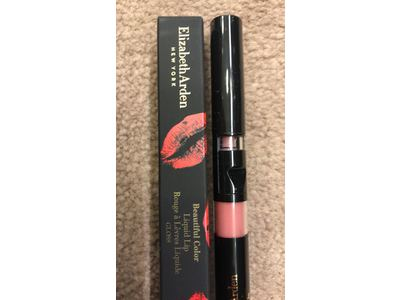 Elizabeth Arden Beautiful Color Liquid Lip Gloss Finish, Gone Pink, 0.08 oz - Image 4