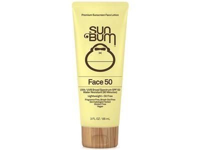 Sun Bum Face Lotion, SPF 50, 3 fl oz