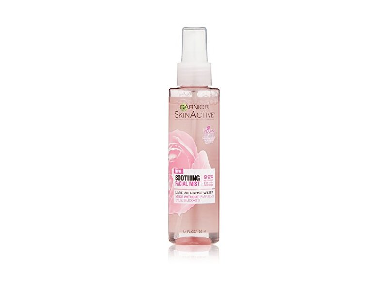 Garnier SkinActive Soothing Facial Mist with Rose Water, 4.4 fl. oz.