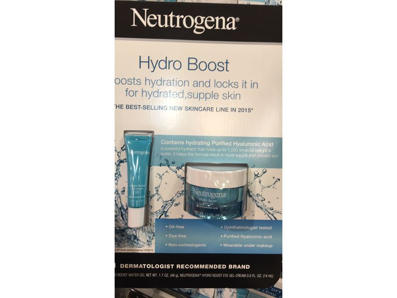 Neutrogena Hydro Boost Water Gel & Eye Gel Set
