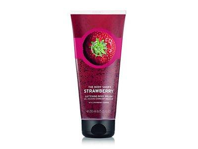 The Body Shop Softening Body Polish, Strawberry, 2.5 fl oz