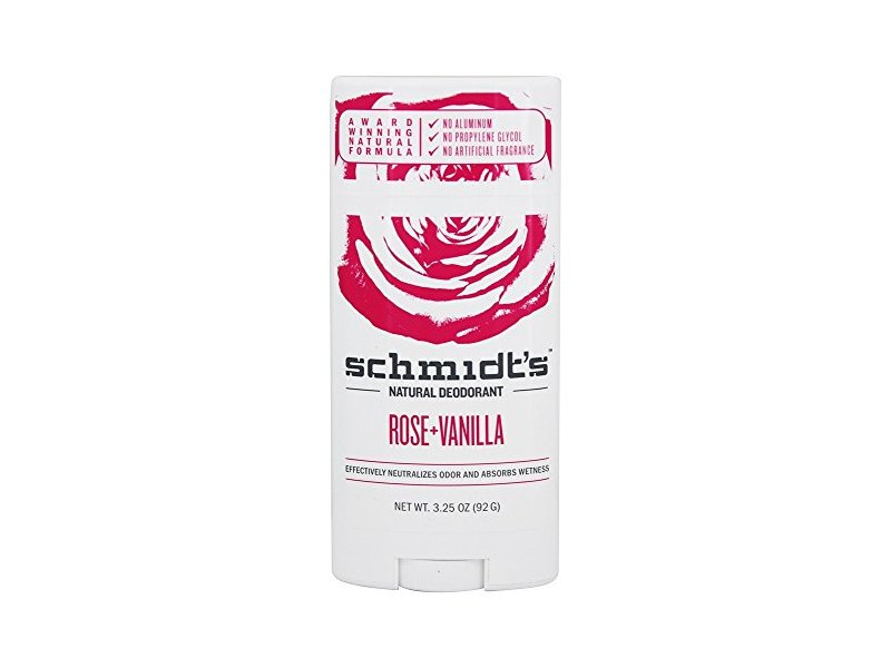 Schmidt's Natural Rose + Vanilla Deodorant Stick, 3.25 oz