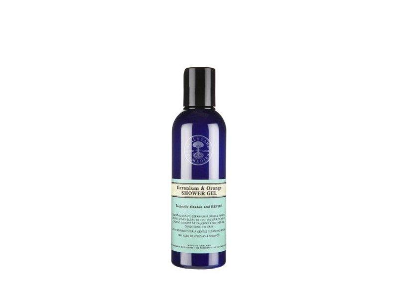 Neal's Yard Remedies Geranium & Orange Shower Gel, 200 ml