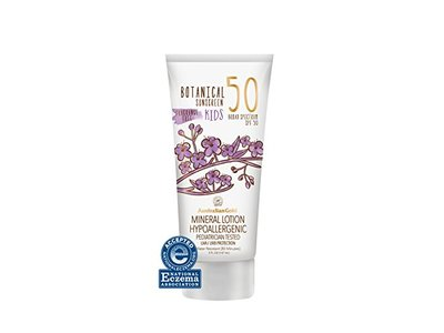 Australian Gold Botanical Sunscreen Mineral Lotion for Kids, Non-Greasy, SPF 50, 5 Ounce - Image 1