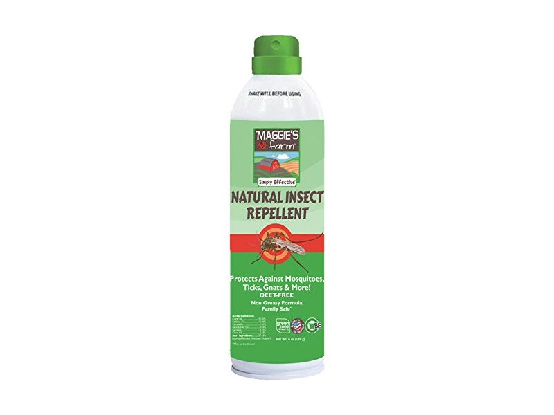 Maggie's Farm Natural Insect Repellent, 6 oz