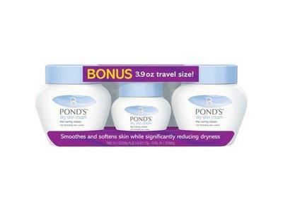 Pond's Dry Skin Cream, 10.1 Oz., 2 pk., with Bonus 3.9 Oz. Travel Size