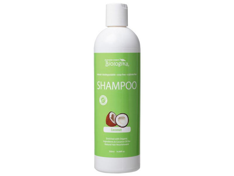 Australian Organic Biologika Shampoo, Coconut, 500 mL