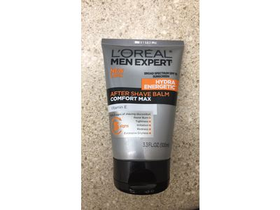 L'Oreal Paris Skin Care Men Expert Hydra Energetic Comfort Max After Shave Balm SPF 15, 3.3 Fluid Ounce - Image 3