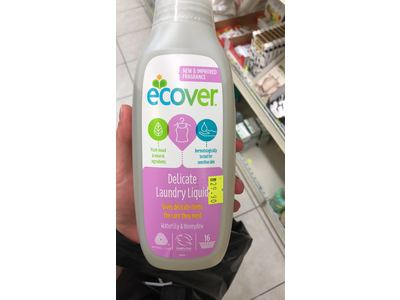Ecover Delicate Wash, Spring Tulip, 750ml - Image 3