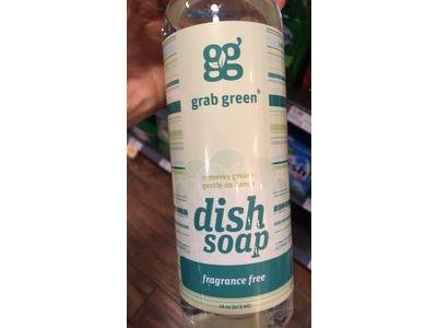 Grab Green Liquid Dish Soap, Fragrance Free, 16 oz - Image 3