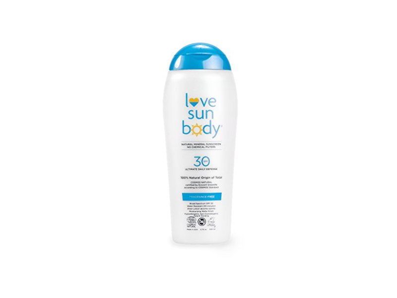 Love Sun Body Mineral Sunscreen, SPF 30, 6.76 oz