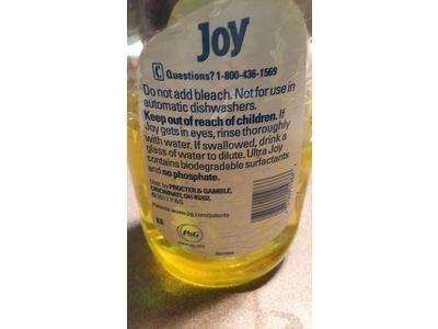 Joy Ultra Dishwashing Liquid, Lemon Scent, 30 fl oz - Image 5