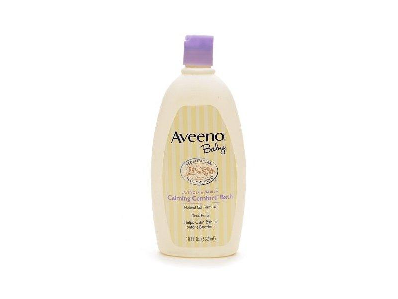 Aveeno Baby Tear-free Calming Comfort Bath, 18 fl oz