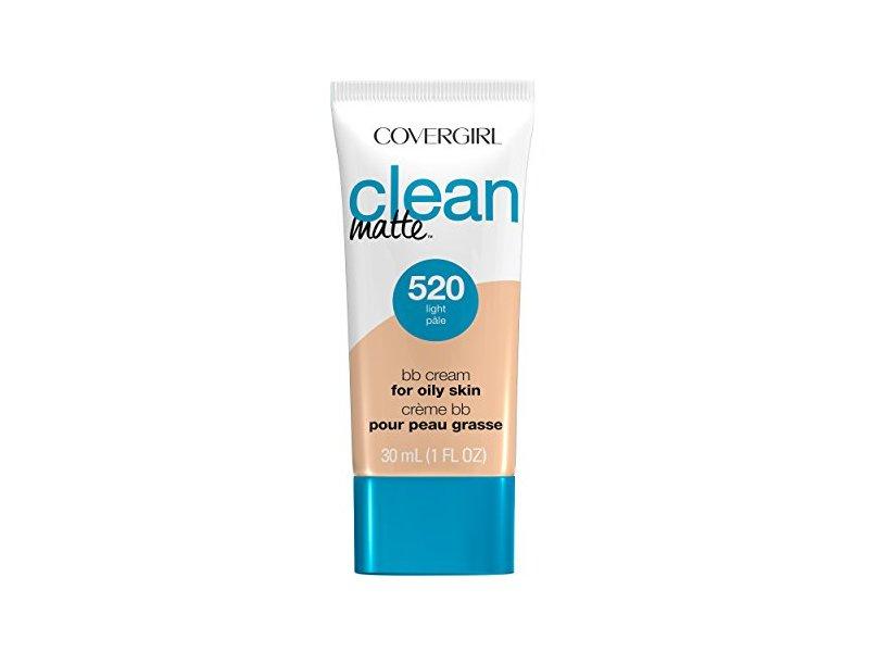 CoverGirl Clean Matte BB Cream, 520 Light, 1 fl oz