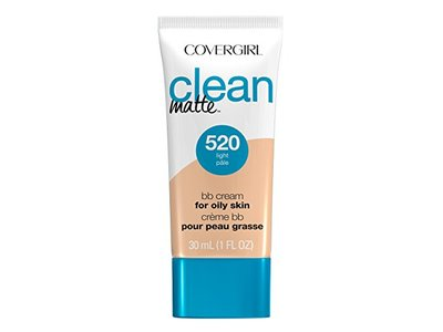 CoverGirl Clean Matte BB Cream, 520 Light, 1 fl oz
