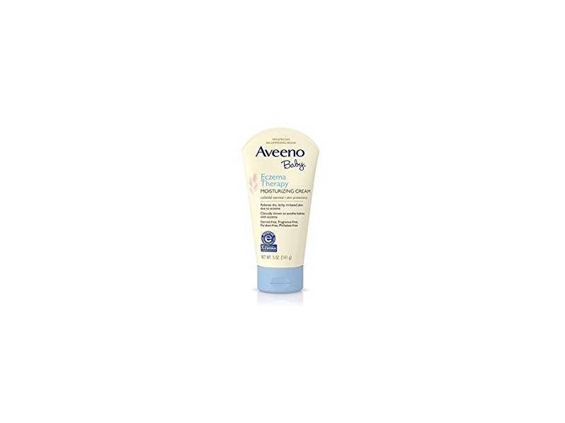 Aveeno Baby Eczema Therapy Moisturizing Cream for Dry Skin, 5 oz