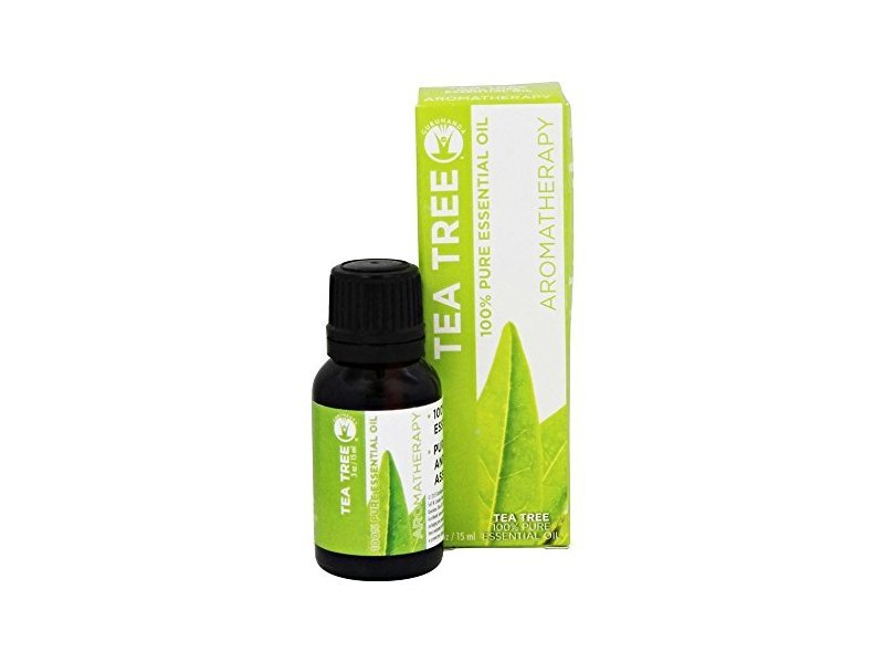 GuruNanda 100% Pure Essential Oil, Tea Tree, 0.5 oz.