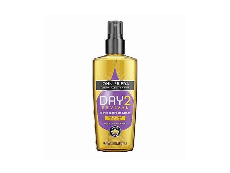 John Frieda Day 2 Revival Wave Refresh Spray, 5 oz