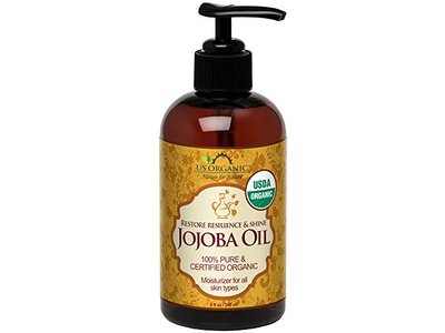 US Organic Jojoba Oil, 8 Ounce