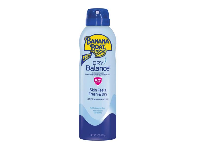 Banana Boat Dry Balance Sunscreen Spray SPF 50+, 6 oz/170 g