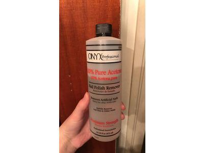 Onyx Professional 100% Acetone Nail Polish Remover, 16 Ounce - Image 3