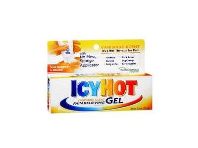 Icy Hot Vanishing Gel, 2.5-Ounce