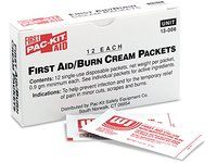 Forestry Suppliers First Aid Refill, ABT First Aid/Burn Cream, 0.5g packets, Box of 12 - Image 2