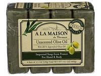 A La Maison, Soap Bar Hand Body Unscented Olive Oil, 14.1 Ounce - Image 2