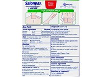Salonpas Pain Relieving Patch Large, 24 Count - Image 6