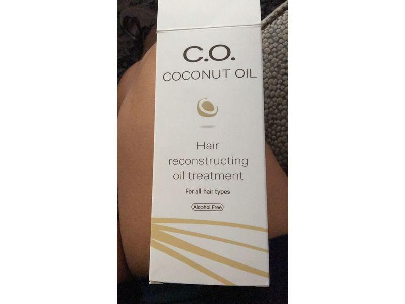C.O. Coconut Oil Hair Reconstructing Oil Treatment, 100 ml
