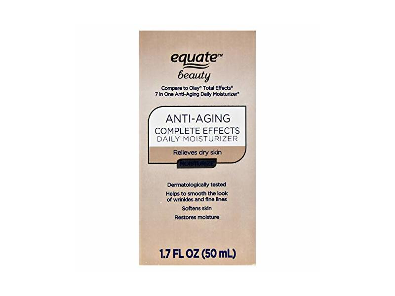 Equate Beauty Anti-Aging Complete Effects Daily Moisturizer, 1.7 oz