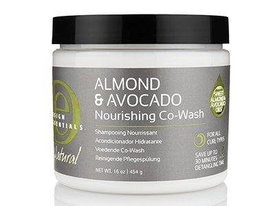 Design Essentials Almond & Almond Nourishing co-Wash Crème, 16oz.