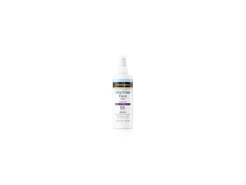 Neutrogena Ultra Sheer Face Mist Sunscreen Spray SPF 55