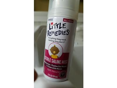 Little Remedies Little Noses Saline Mist, 2 fl oz - Image 4