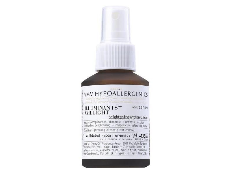 VMV Hypoallergenics Illuminants+ Axillight Brightening Antiperspirant, 2.1 fl oz