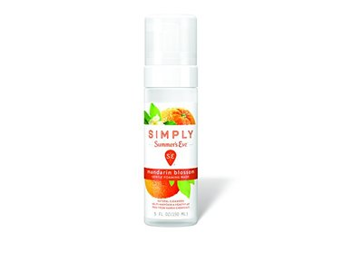 Simply Summer's Eve Gentle Foaming Wash, Mandarin Blossom, 5 Ounce - Image 1