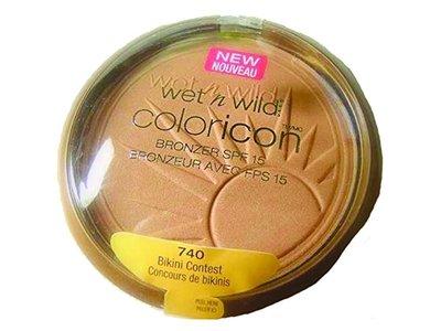Wet n Wild Color Icon Bronzer SPF 15, 740 Bikini Contest, .46 oz - Image 3