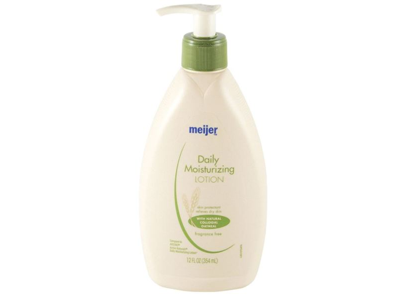 Meijer Daily Moisturizing Lotion, Fragrance Free, 12 fl oz