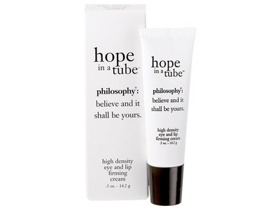 Philosophy Hope in a Tube Eye and Lip Firming Cream, 0.5 oz