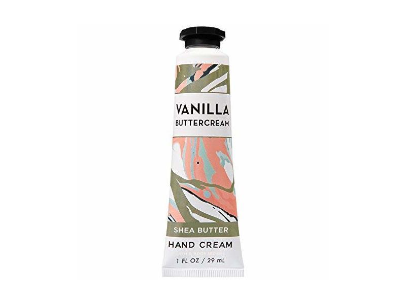 Bath & Body Works Shea Butter Hand Cream, Vanilla Buttercream 2018, 1 fl oz