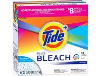 Tide Ultra Plus Bleach Original Scent Powder Laundry Detergent, 53 loads, 95 oz - Image 2