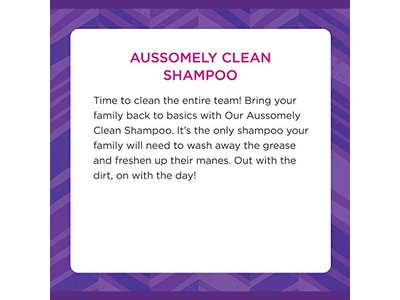 Aussie Family Aussomely Clean Shampoo with Pump, 29.2 oz - Image 4