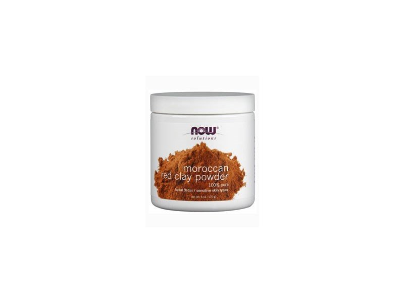 Now Foods Red Clay Powder Moroccan, 6 oz.