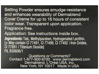 Dermablend Loose Setting Powder, Cool Beige, 1 oz - Image 7