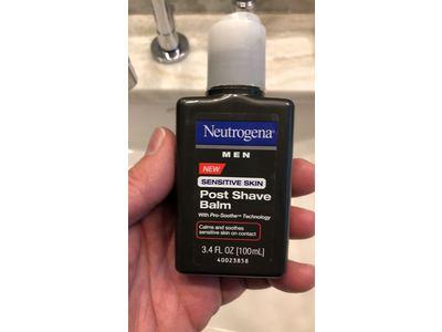 Neutrogena Men Sensitive Skin Post Shave Balm, 3.4 Fl. Oz - Image 3