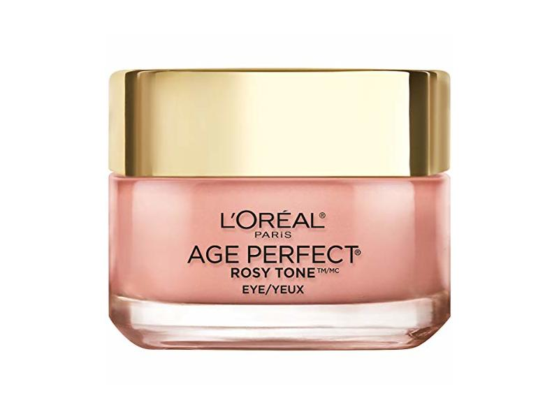 L'oreal Paris Skin Care Age Perfect Rosy Tone Eye Brightener Cream, 0.5 Ounce