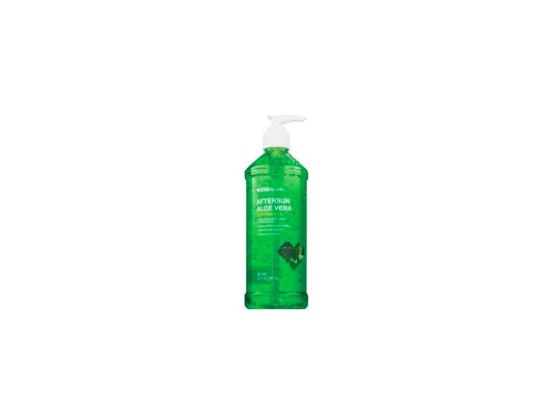 cvs health aftersun aloe vera moisturizing gel  20 oz ingredients and reviews