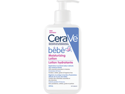 CeraVe Bebe Moisturizing Lotion, 237 mL