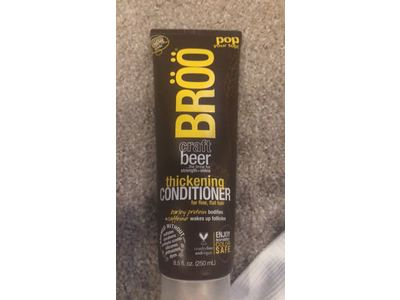 BRÖÖ Craft Beer Thickening Conditioner, 8.5 fl oz - Image 3