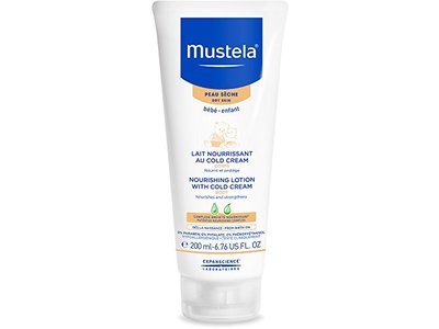 Mustela Nourishing Body Lotion with Cold Cream for Dry Skin, 6.7 oz.